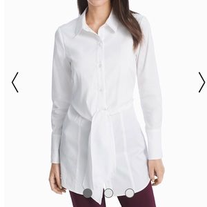 White House Black Market tailored blouse